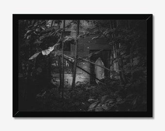 Apparition   High Quality Black & White Print - A3, A4