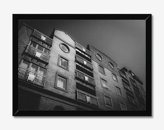 Windows | High Quality Black & White Print - A3, A4