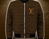 Luxury French Fashion Bomber Jacket - Bomber 3D Brand - Luxury Bomber Jacket - Expensive Luxury Fashion