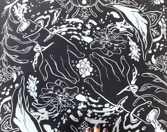 Rebirth + Renewal Tarot Altar Cloth - first edition
