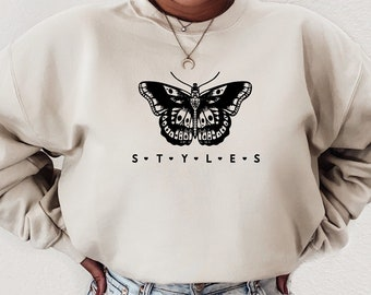 Harry Style's Butterfly Sweatshirt , Harry Styles, One Direction, Fine line, TPWK, Harry Styles Merch, But Daddy I Love Him