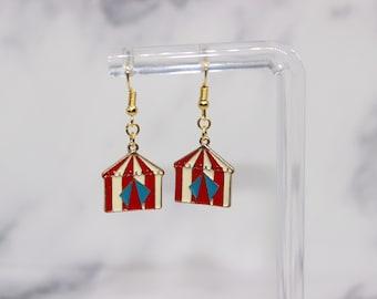 Circus Tent Earrings *SALE*
