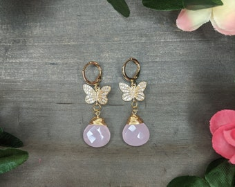 Gold plated earrings,Colorful,Elegant,Handmade,Lightweight,Modern,Everyday Earrings,boho,hippie,gift, special occasion,gemstone,bridal,beads