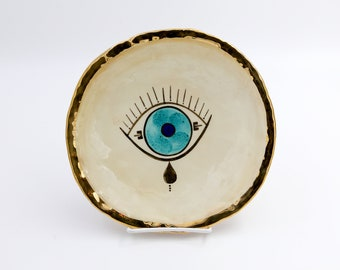 Evil Eye Plate #2