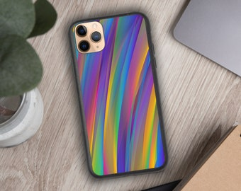 IPhone  gradient abstract Glass case, iPhone 11 case,iPhone 12,iPhone 12 pro,iPhone 12 pro Max, iPhone X, iPhone XR,iPhone 11 pro, Iphone XR