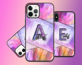 Personalized iPhone  gradient abstract Glass case,iPhone 11 pro, iPhone 11 case,iPhone 12,iPhone 12 pro,iPhone 12 pro Max,iPhone Xr case