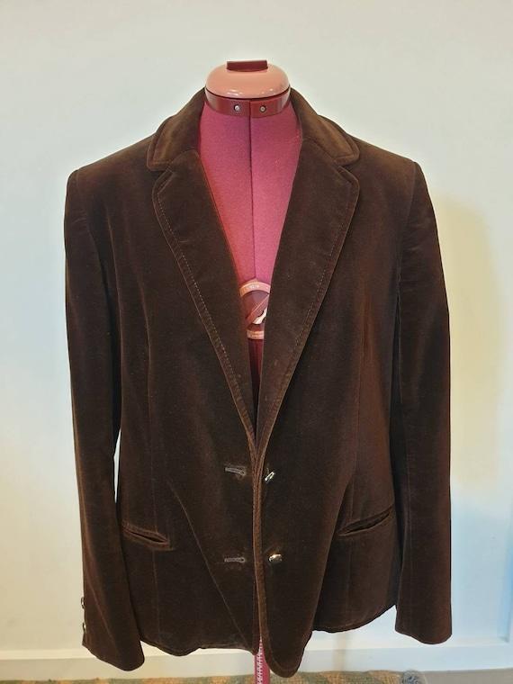 Suitmaster velvet jacket