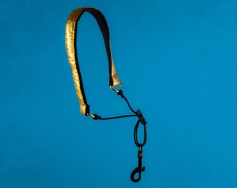 Neck Strap Clarinet Woodwind Stylish Gold