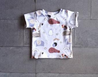 Baby T-Shirt Safari Birthday Size 68