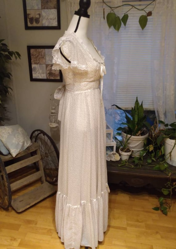 Gunne Sax Nightingale Prairie Dress. Ditsy Floral… - image 2