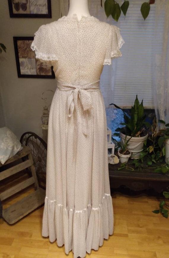 Gunne Sax Nightingale Prairie Dress. Ditsy Floral… - image 7
