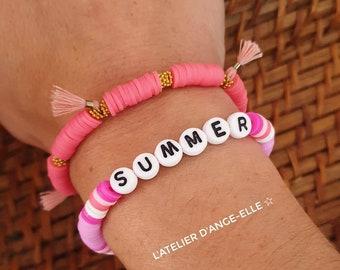 "Personalized bracelet ""Summer"""