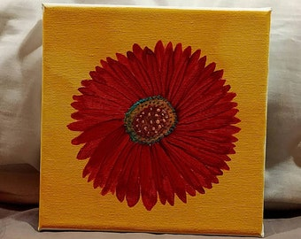 Gerbera Daisy Red *Doodles and Ect Line*