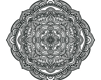 Adult Coloring Page PDF Printable Coloring Page