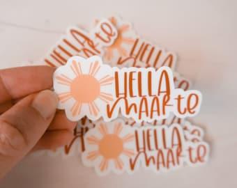 Hella Maarte sticker | Filipino sticker | Filipino inspired