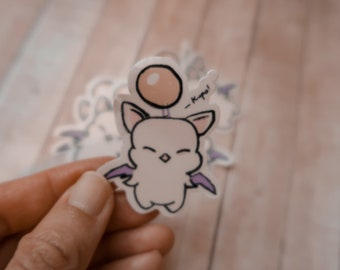 Kupo! Moogle Sticker | Final Fantasy sticker | Gaming sticker
