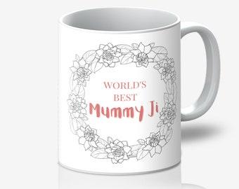 World's Best Mummy Ji Mug
