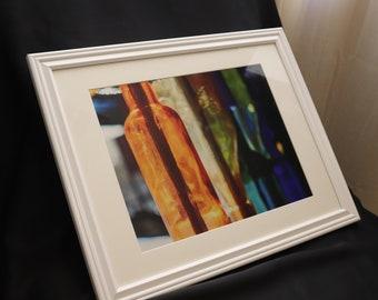 Seligman, AZ - Sunlight Through Colored Glass