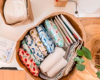 Storage basket design in natural fiber cellulose