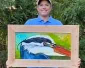 Great Heron – Original Painting