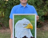 Bald Eagle – Original Painting