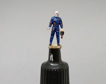Horror Killer Man HO 1:87 scale Miniature Figure NO Preiser