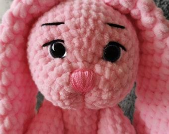 Hand crochet bunny