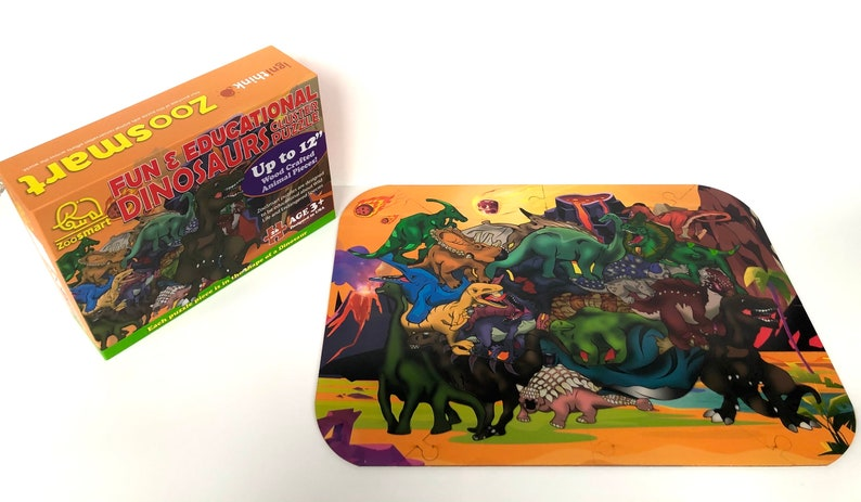 ZooSmart Dinosaurs Cluster Puzzle  Special Edition image 0