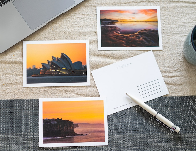 Australian landscape photography postcards. A6 size 14.8x10.5 image 0