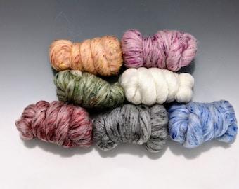 Jelly Bean Nougat worsted weight Alpaca Merino yarn