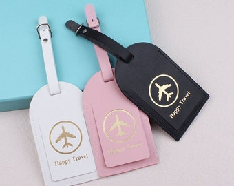 Bulk Wedding Favors Luggage Tags Unique Gifts, Bridesmaid Gift, Save the Date, or Bridal Party Shower