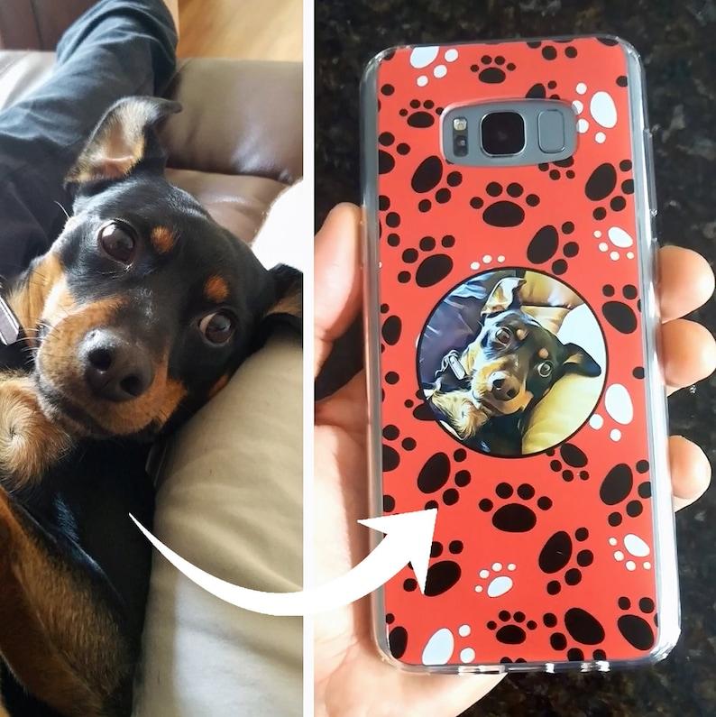 Custom Pet Phone Case Dog Phone Case Cat Phone Case image 0