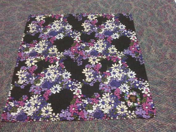 Vintage Anna Sui Handkerchief Pocket Square Scarf - image 2