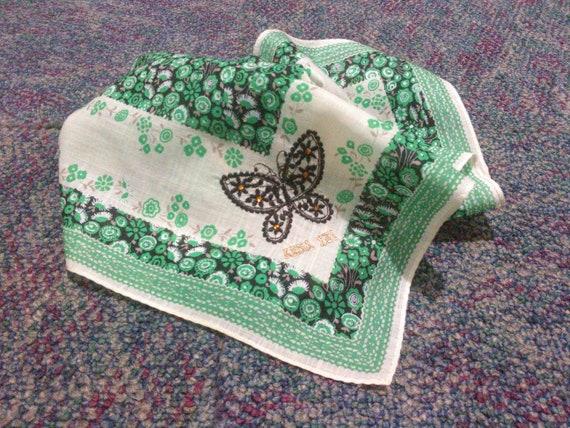 Vintage Anna Sui Handkerchief Pocket Square Scarf - image 4