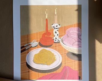 Still Life - Illustration - Art - Art Print - Digital - Painting - Artwork - Wall Decor - Wall Art - Small Print - Large Print