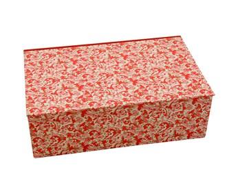 Schatzkästchen mit Klappdeckel personalisierbar / Aufbewahrungsbox mit Deckel