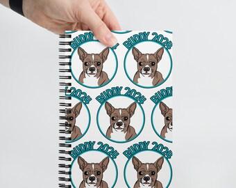 Buddy 2024 Spiral notebook