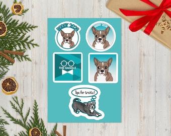 Buddy Sticker Sheet
