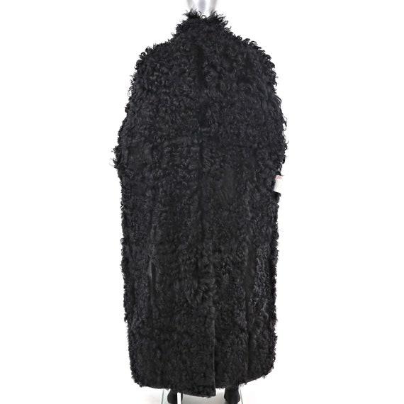 Men's Full Length Shearling Coat with Lamb Lining… - image 8