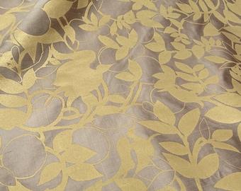 Barbara Beckmann Copper Sand with Gold L'Orangerie 11 yards