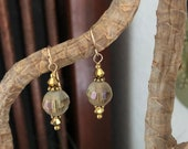 Gold and Crystal 1 Inch D...