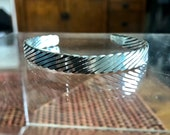 Solid Sterling Silver 1/4...