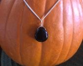 Black Obsidian Gemstone M...