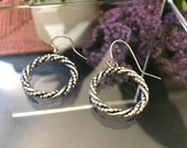 Twisted Sterling Silver W...