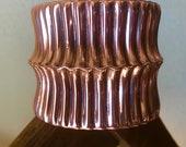 Wide Solid Copper Cuff Br...