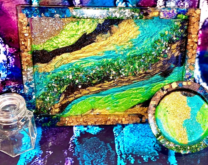 Custom rolling tray / weed tray set