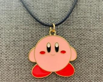 Kirby necklace enamel jewelry super Mario Nintendo Mario kart star wii 2