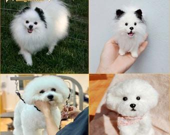 Custom Dog Plush, Custom Stuffed Dog, Custom Crochet Dog, Custom Stuffed Animal, Personalized Pet Gift, Pet Memorial, Pet Stuffed Animal