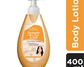 Luxe Organix Niacinamide Aloe Vera Snail Velvet Body Cream 400ml each (Pack of 2)