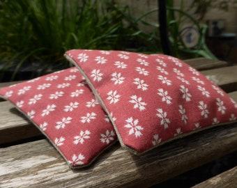 Vintage Laura Ashley 'Owen' Print Organic Lavender Bags
